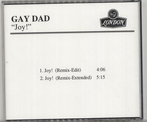 Gay Dad Joy! CD-R acetate US GYDCRJO147174