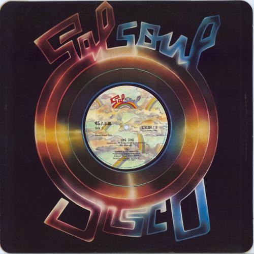 "Gaz Sing Sing 12"" vinyl single (12 inch record / Maxi-single) UK H3412SI663315"