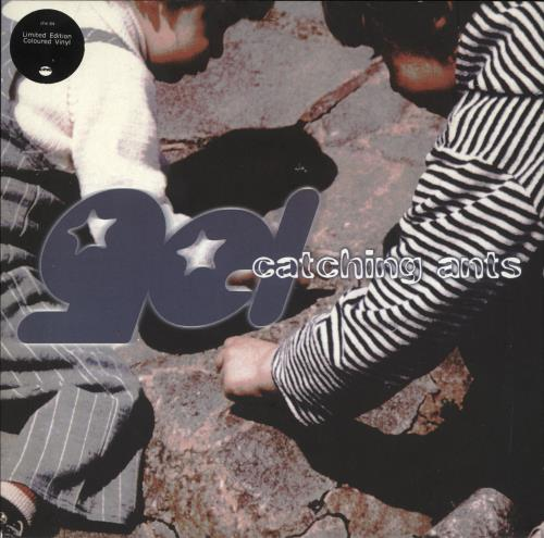 """Gel Catching Ants - Spotted Clear Vinyl 7"""" vinyl single (7 inch record) UK ZGL07CA716330"""
