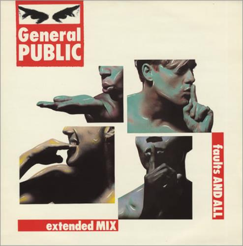 "General Public Faults And All 12"" vinyl single (12 inch record / Maxi-single) UK GPL12FA372473"