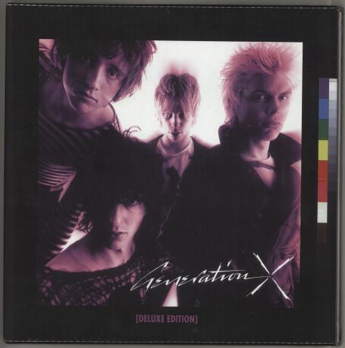 Generation X Generation X: Deluxe Edition - Sealed Vinyl Box Set UK GEXVXGE719765