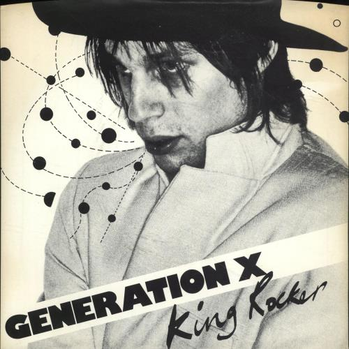 "Generation X King Rocker - Inj - P/S 7"" vinyl single (7 inch record) UK GEX07KI701399"