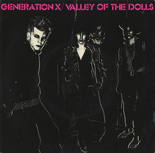 "Generation X Valley Of The Dolls - Brown Marbled Vinyl 7"" vinyl single (7 inch record) UK GEX07VA81053"