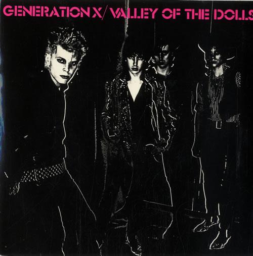 "Generation X Valley Of The Dolls 7"" vinyl single (7 inch record) UK GEX07VA549795"