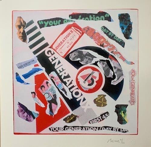 Generation X Your Generation - Punk Art Print artwork UK GEXARYO718873