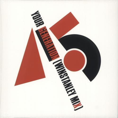"Generation X Your Generation - RSD19 - Red Vinyl - Sealed 7"" vinyl single (7 inch record) UK GEX07YO718540"