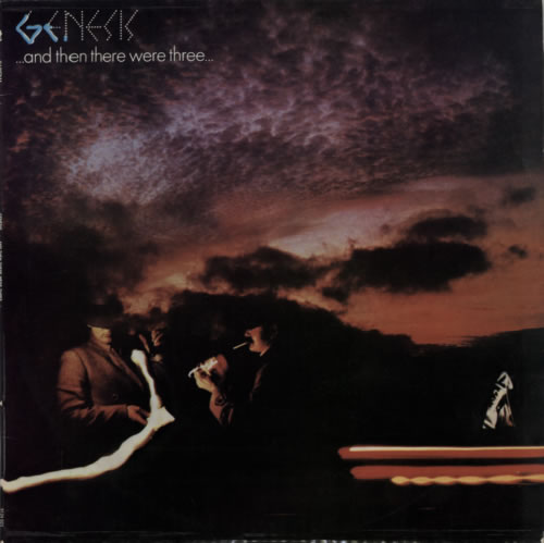 Genesis ... And Then There Were Three ... vinyl LP album (LP record) Portugese GENLPAN590981