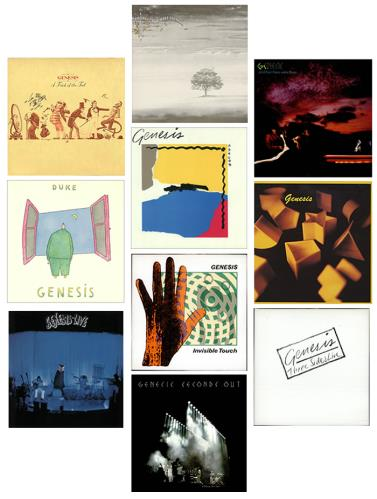 Genesis 1970 1986 Studio Albums Uk Vinyl Lp Album Lp