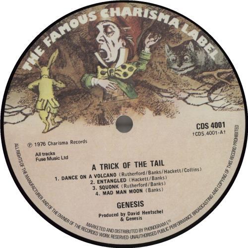 Genesis A Trick Of The Tail - 1st - VG vinyl LP album (LP record) UK GENLPAT681319