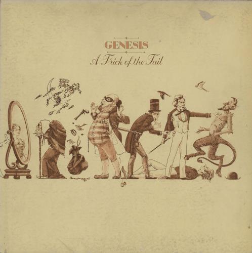 Genesis A Trick Of The Tail - 3rd + Inner vinyl LP album (LP record) UK GENLPAT757466
