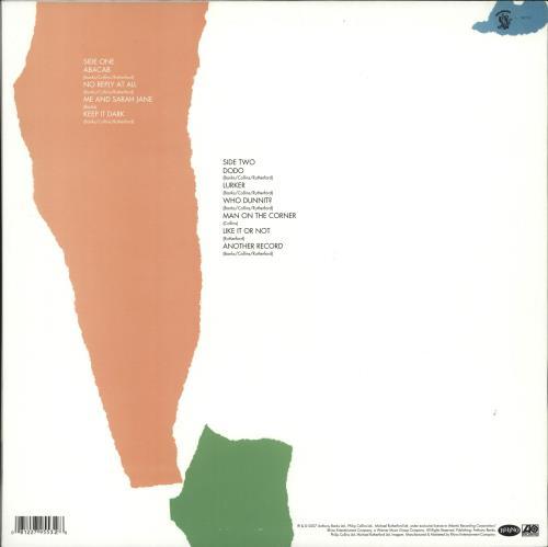 Genesis Abacab - 180gm vinyl LP album (LP record) US GENLPAB706130