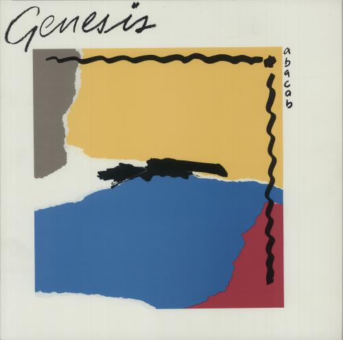 Genesis Abacab - G/Y/B/R Sleeve vinyl LP album (LP record) UK GENLPAB390016