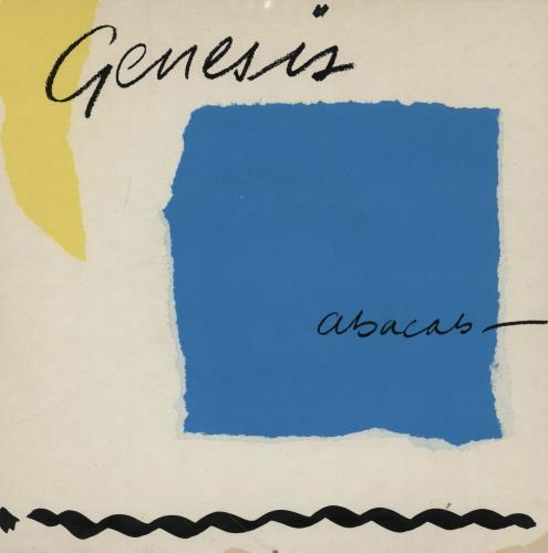 """Genesis Abacab - Wide Centre - Picture Sleeve 7"""" vinyl single (7 inch record) UK GEN07AB760620"""