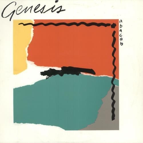 Genesis Abacab - Y/R/G/G Sleeve vinyl LP album (LP record) UK GENLPAB401762