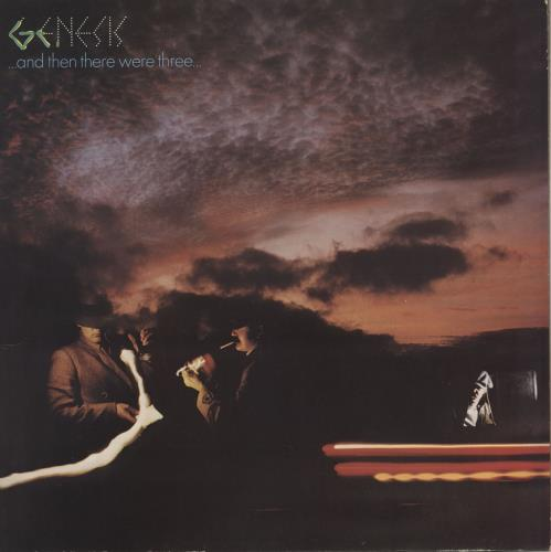 Genesis And Then There Were Three - 1st + Insert vinyl LP album (LP record) UK GENLPAN614389