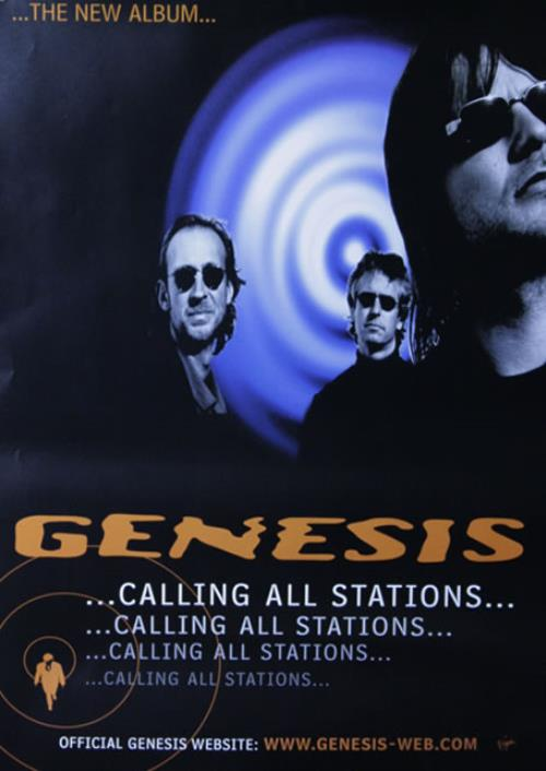 Genesis Calling All Stations poster UK GENPOCA514079