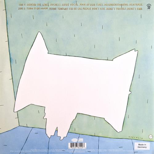 Genesis Duke - White Vinyl 180 Gram - Sealed vinyl LP album (LP record) UK GENLPDU770328