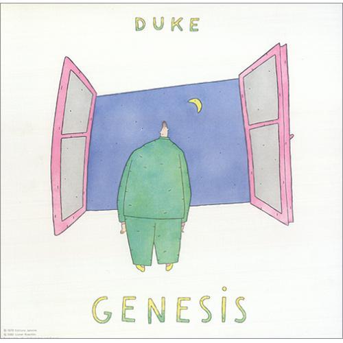 Genesis Duke vinyl LP album (LP record) Canadian GENLPDU256709