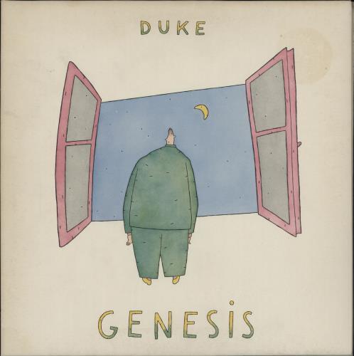 Genesis Duke vinyl LP album (LP record) UK GENLPDU316798