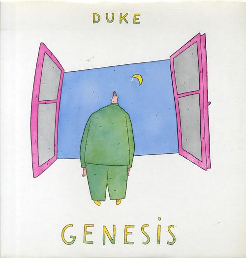 Genesis Duke vinyl LP album (LP record) German GENLPDU551166