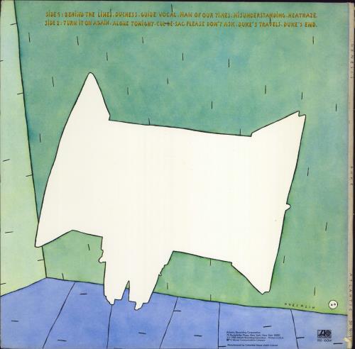 Genesis Duke vinyl LP album (LP record) US GENLPDU769941