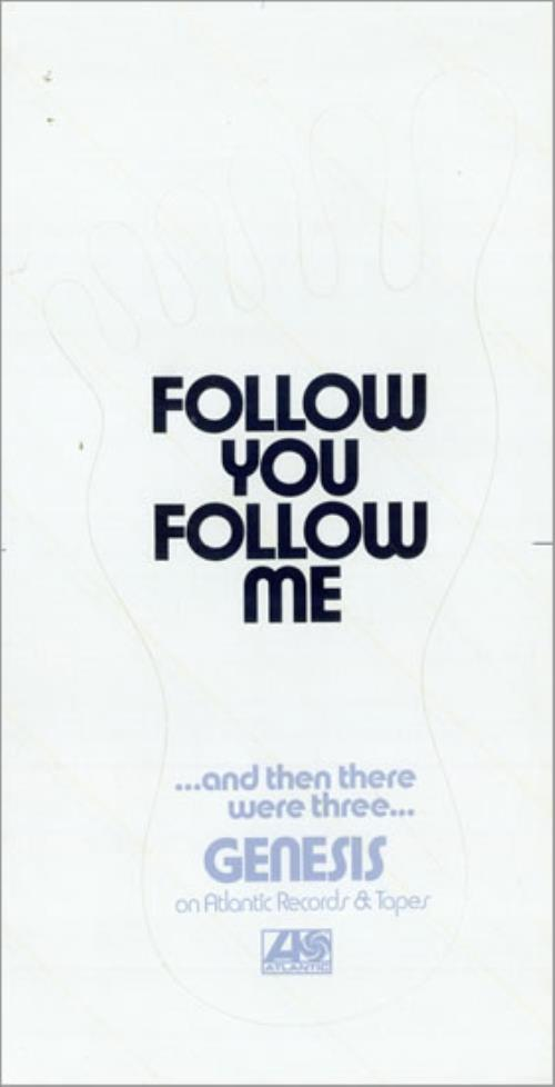Genesis Follow You Follow Me memorabilia US GENMMFO476147