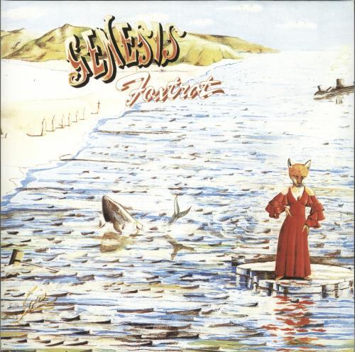 Genesis Foxtrot - 180gm vinyl LP album (LP record) UK GENLPFO714937