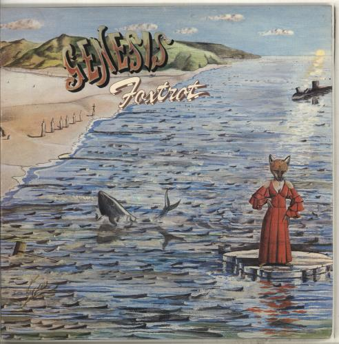 Genesis Foxtrot - 2nd vinyl LP album (LP record) UK GENLPFO100576