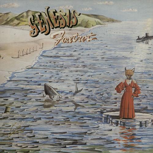 Genesis Foxtrot - 4th - EX vinyl LP album (LP record) UK GENLPFO568541
