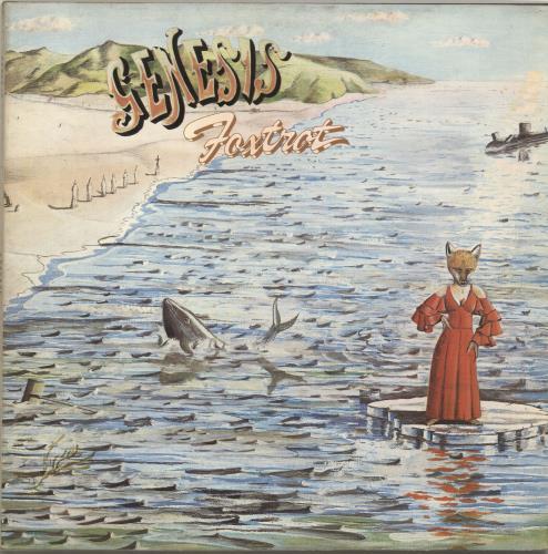 Genesis Foxtrot - 4th - VG vinyl LP album (LP record) UK GENLPFO696135