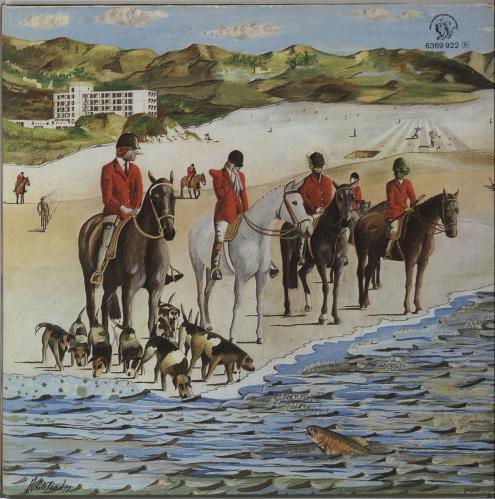 Genesis Foxtrot - German p/s vinyl LP album (LP record) German GENLPFO537357