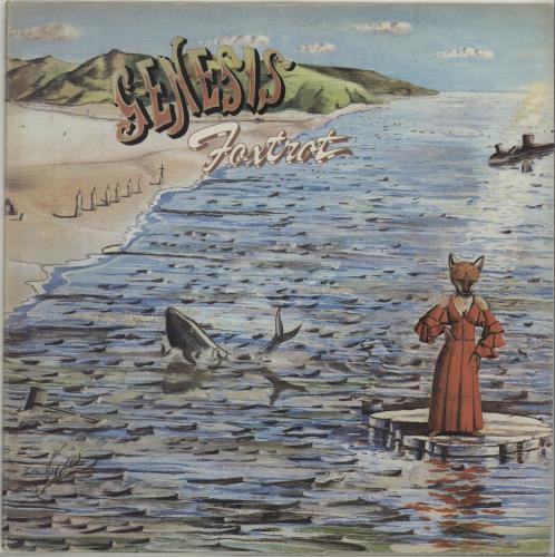 Genesis Foxtrot - US - 1st - Ex vinyl LP album (LP record) US GENLPFO675502
