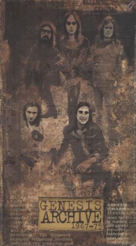 Genesis Genesis Archive 1967-75 4-CD album set UK GEN4CGE405169