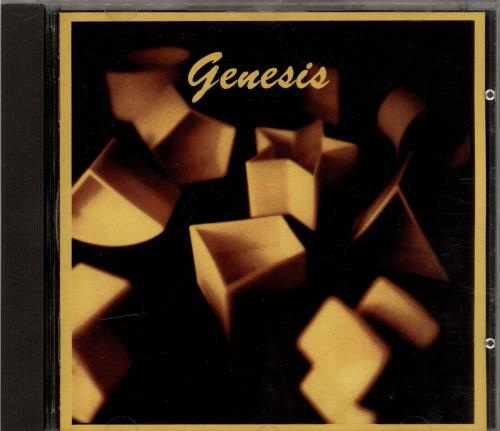 Genesis Genesis CD album (CDLP) UK GENCDGE700774