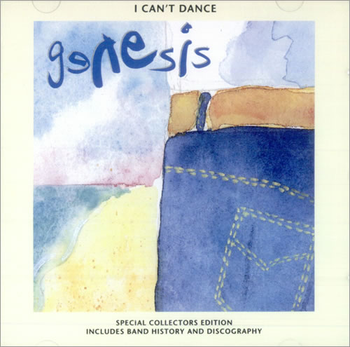 genesis i can 39 t dance japanese cd single cd5 5 512588. Black Bedroom Furniture Sets. Home Design Ideas