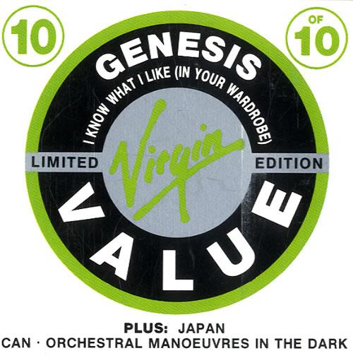 "Genesis I Know What I Like In Your Wardrobe 3"" CD single (CD3) UK GENC3IK47884"