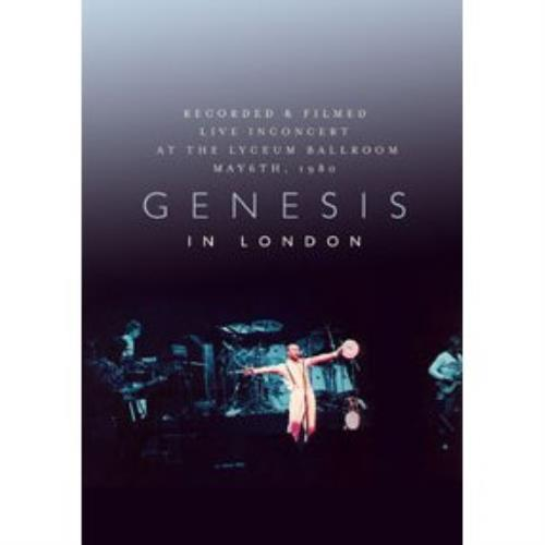 Genesis In London DVD UK GENDDIN433965