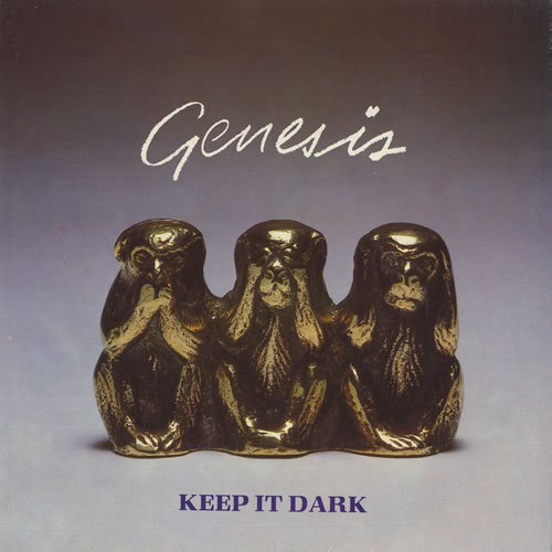 "Genesis Keep It Dark - Picture sleeve 7"" vinyl single (7 inch record) UK GEN07KE28448"
