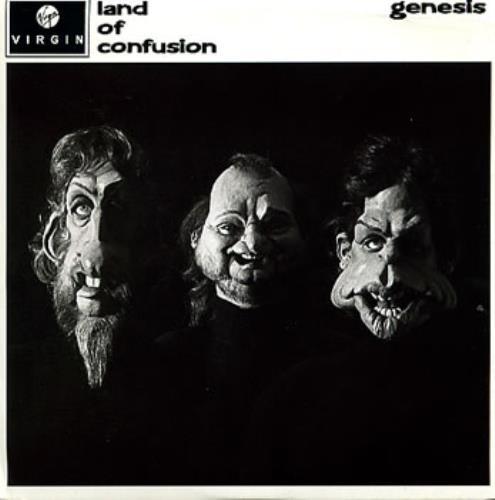 """Genesis Land Of Confusion - P/S 7"""" vinyl single (7 inch record) UK GEN07LA195593"""