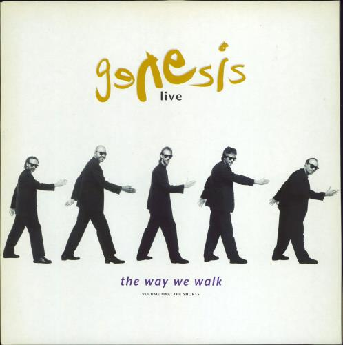 Genesis Live / The Way We Walk (Volume One: The Shorts) vinyl LP album (LP record) UK GENLPLI708174