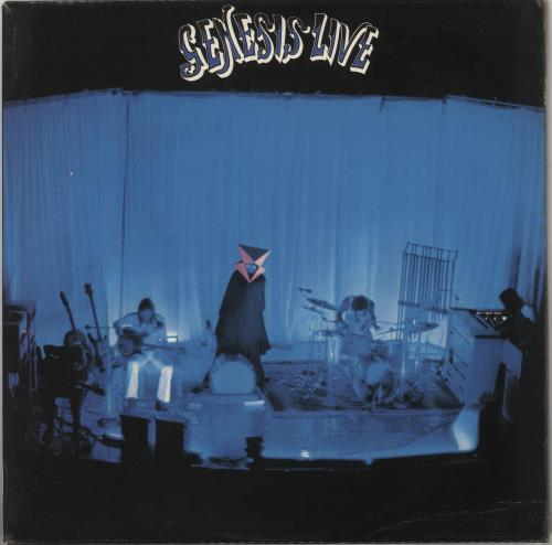 Genesis Live - 2nd vinyl LP album (LP record) UK GENLPLI314540