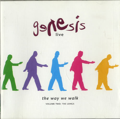 Genesis Live - The Way We Walk Volume 2: The Longs CD album (CDLP) UK GENCDLI615635