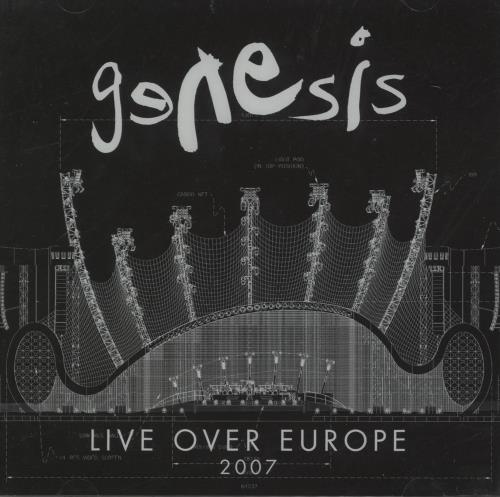 Genesis Live Over Europe 2 CD album set (Double CD) German GEN2CLI673455