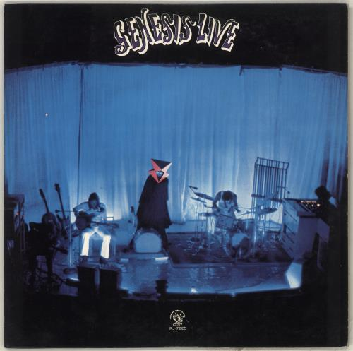 Genesis Live vinyl LP album (LP record) Japanese GENLPLI713380