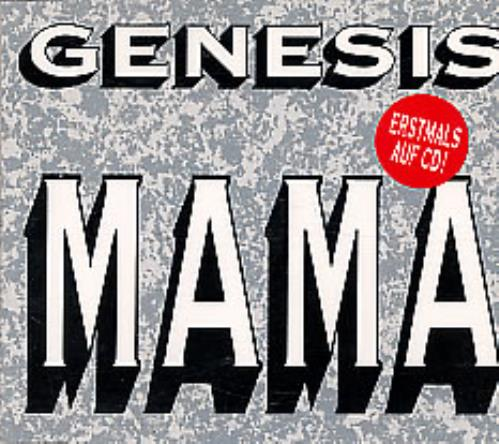 "Genesis Mama CD single (CD5 / 5"") German GENC5MA02159"