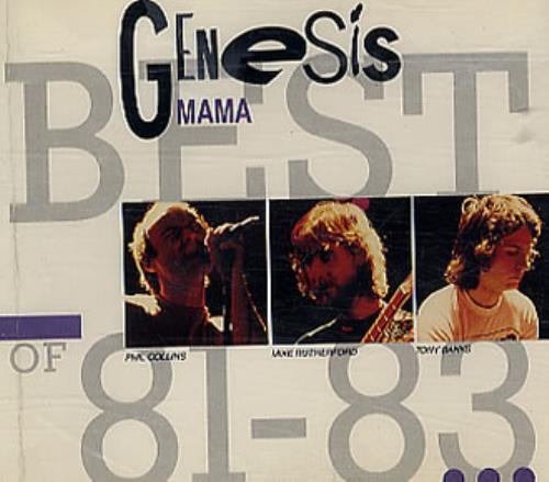 "Genesis Mama CD single (CD5 / 5"") French GENC5MA93629"