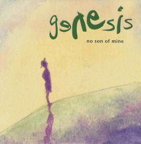 """Genesis No Son Of Mine 7"""" vinyl single (7 inch record) UK GEN07NO205251"""