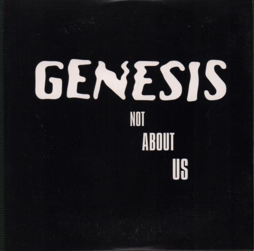 """Genesis Not About Us CD single (CD5 / 5"""") UK GENC5NO105307"""