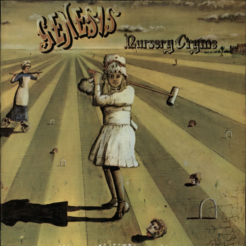 Genesis Nursery Cryme vinyl LP album (LP record) Portugese GENLPNU579522