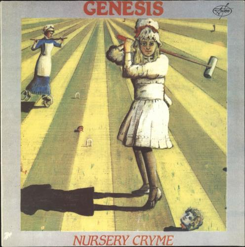 Genesis Nursery Cryme vinyl LP album (LP record) Russian GENLPNU733581